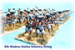 8th Madras Native Infantry - Firing