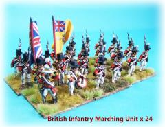 British Infantry - Marching