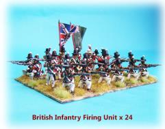 British Infantry - Firing