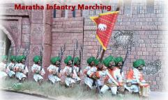 Maratha Infantry - Marching