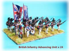 British Infantry - Advancing