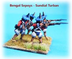 Bengal Sepoy Infantry w/Sundial Turban - Firing
