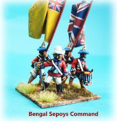 Bengal Sepoy Infantry Command w/Sundial Turban