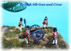 British 6lb. Gun & Crew
