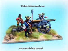 British 12lb. Gun & Crew