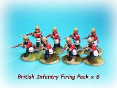 British Infantry Firing