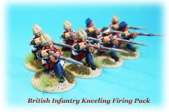 British Infantry Firing - Kneeling