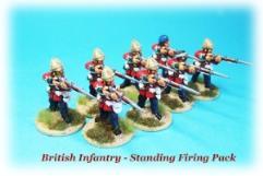 British Infantry Firing - Standing
