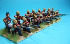 British Infantry Firing Unit