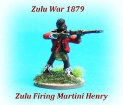Zulus Firing Rifles