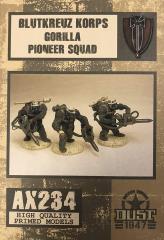 Blutkreuz Korps Gorilla Pioneer Squad