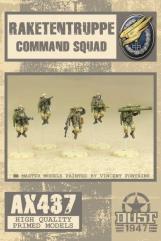 Raketentruppe Command Squad