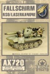 Fallschirm RSO/Laserkanone