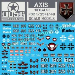 Axis Decals (10)