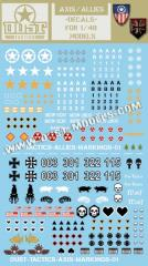 Axis/Allies Decals (10)