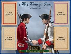1754 Conquest - The Treaty of Paris Board
