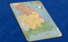 878 - Vikings, Giant Map Mat