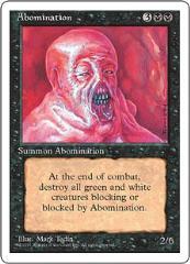 Abomination (U)