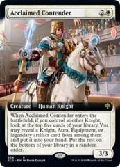 Acclaimed Contender (Extended Art) (R)
