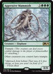 Aggressive Mammoth (R) (Foil)