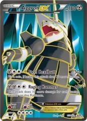 Aggron EX (153 Full Art) (Ultra R) #153 (Holo)