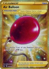 Air Balloon (Secret) (Secret R) #213/202 (Holo)