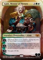 Ajani, Mentor of Heroes (MR) (Foil)