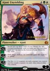 Ajani Unyielding (P) (Foil)