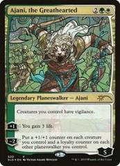 Ajani, the Greathearted (Stained Glass) (P) (Foil)