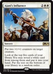 Ajani's Influence (R)