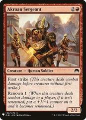 Akroan Sergeant (C)