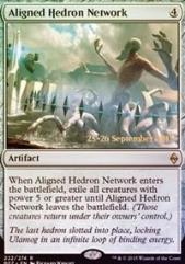 Aligned Hedron Network (P) (Foil)