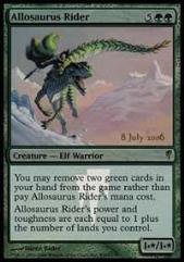 Allosaurus Rider (P) (Foil)