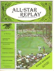 "Vol. 4, #1 ""Pro Golf, The Masters, Superstar Baseball"""