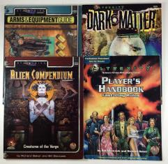 Alternity Supplement Lot - 4 Books!