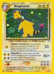 Ampharos (HR) #1 (1st Edition Holo)