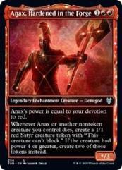 Anax, Hardened in the Forge (Showcase) (U)