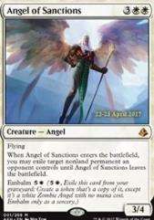 Angel of Sanctions (P) (Foil)