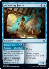 Animating Faerie // Bring to Life (U) (Foil)