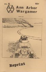 "#5 ""Wooden Ships & Iron Men Scenarios, Highway to the Reich"" (Reprint Edition)"