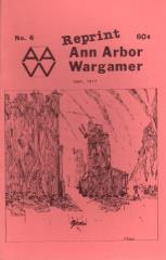 """#6 """"PanzerBlitz, Panzergruppe - Bannorkhemea"""" (Reprint Edition)"""