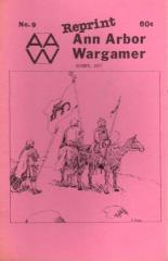 "#9 ""Wooden Ships & Iron Men Scenarios, PanzerBlitz, The Age of King Arthur in Wargaming"" (Reprint Edition)"