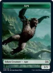 Ape // Elemental Double-sided Token (T)