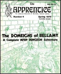 """#4 """"The Domeigns of Bellamy"""""""