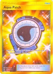 Aqua Patch (Secret) (Secret R) #161 (Holo)