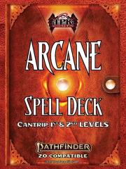 Arcane Spell Deck - Cantrips-2nd Level