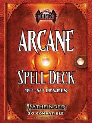 Arcane Spell Deck - 3rd-5th Level