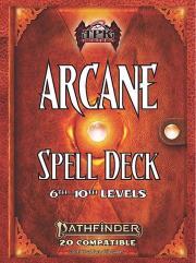 Arcane Spell Deck - 6th-10th Level