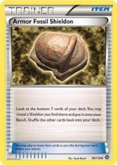 Armor Fossil Shieldon (U) #98