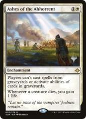 Ashes of the Abhorrent (R) (Foil)